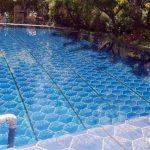 ایزوگام طرح دار استخر آبی